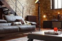 Industrial Living Room / Industrial Living Room Designs That Inspire