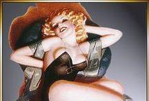 PinUp:Enoch Bolles ♫ ♪ ♥●•٠·˙ ☯ / Enoch Bolles, né le 3 mars 1883 à Boardman Comté de Marion et mort le 16 mars 1976 à New Jersey, est un illustrateur américain connu pour ses pin-ups et des publicités de Zippo. Enoch Bolles (1883-1976) était un peintre américain. Il est considéré comme LE maître de l'art de la pin-up, magazines (Film Fun, Screen Romances, Stolen Sweets, Gay Book, Judge, Titter, Cupid's Capers,...) et les portraits de jeunes starlettes telles que Myrna Loy et Ida Lupino.