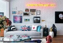 Stylish Brick Walls Ideas / Stylish Brick Walls Ideas For A Living Room