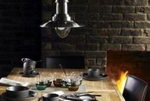 Masculine Dining Areas / Stylish And Dramatic Masculine Dining Areas
