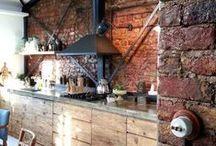 Industrial Kitchen Designs / Functional Industrial Kitchen Designs