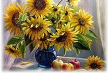 Flower arrangements with vase ♫ ♪ ♥●•٠·˙ ☯