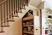 Under The Stairs Storage / Clever Under The Stairs Storage Ideas
