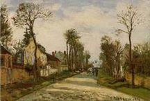 Impressionnistes ♫ ♪ ♥●•٠·˙ ☯ / Camille Pissarro (French, 1830–1903). - Alfred Sisley 1893