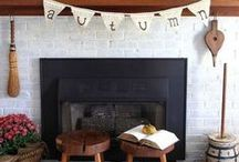 Fall Mantel Decor Ideas / Cozy Fall Mantel Decor Ideas