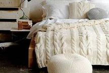 Soft Knitted Home Decor / Cozy And Soft Knitted Home Decor Ideas