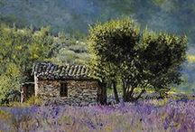 Guido Borelli ♫ ♪ ♥●•٠·˙ ☯ Paintings Canvas Prints Posters / Guido Borelli né en 1952 à Caluso est un peintre italien figuratif de natures mortes, de paysages, de scènes de genre. Wikipédia