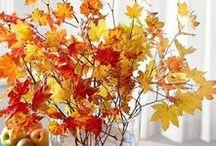 Fall Leaves Home Decor / Beautiful Fall Leaves Home Decor Ideas