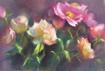 Mary Aslin ♫ ♪ ♥●•٠·˙ ☯ / ASLIN Still life and figurative paintings in pastel and oil