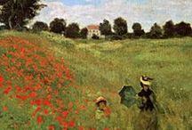 Poppy theme ♫ ♪ ♥●•٠·˙ ☯ / Les coquelicots sont un signe de l'été. Ils se propagent sur les champs par milliers. Ils seront toujours liés à la guerre dans le nord de la France comme ils fleurissent particulièrement bien dans les sols perturbés qui était une telle fonctionnalité dans la suite des champs de bataille de 2 guerres mondiales.