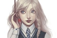 Luna Lovegood(Harry Potter ) / My favourite character is Luna Lovegood because I think she is like me !