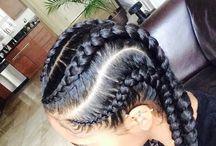hair colors n styles