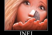 Because I'm INFJ ! / I know I ´m INFJ because I made a MBTI