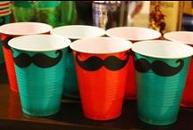 MUSTACHE BASH | Party Theme / Mustache Party | Little Man Birthday | We Mustache You to Follow | 'Stache Gifts Here | Comb On In | Thanks for Combing | 'Stache for Later