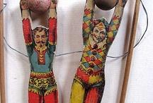 Antiek speelgoed - Antique toys / by Klaverke