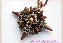 Beading - Spikes (necklace, pendant)