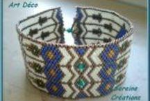 Beading - Peyote stitch