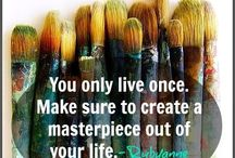 Inspiring Creativity / Quotes and words to inspire and encourage creativity