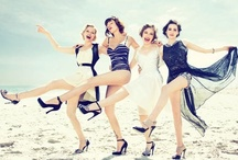 Beach Fashion - Vintage - Strandmode / by Klaverke
