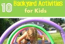 OUTDOOR FUN | Activities & Crafts / Summer | Kids Summer Activities | Summer Break | Summer Party | Cool Snacks | Sweet Treats | Watermelon | Strawberry | Kiwi | Popsicle