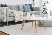 Living Room Styling / Beautiful lounge rooms and living rooms