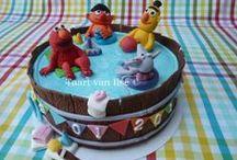 Sesame street cake! / Cake
