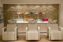 Hair Salon Shampoo Stations / Hair Salon Shampoo Bowls, Stations and Shampoo Chair Units