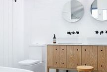 simple bathrooms, restrooms / Timeless design - simple, funniest , bright, full of light bathrooms