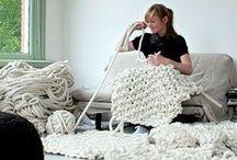 Tejer a lo Grande / #Big #Chunky #Knit #yarn #bigyarn #crochetxxl #ganchilloxxl #wool #lana