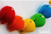 Amigurumis / Tendencia o moda japonesa que consiste en tejer pequeños muñecos mediante técnicas de croché o ganchillo #amigurumis #crochet #ganchillo #knit #cottonyarn #yarn
