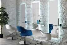 Italian Hair Salon Equipment Salon Ambience / Upscale Italian Salon Equipment Free Shipping Made in Italy Many Base Options Premium Fabric Options Excellent Quality 2 Years Warranty On Pump