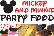 MICKEY MOUSE | Party Theme / Disney Birthday | Walt Disney Characters | Mickey Mouse Clubhouse | Minnie Mouse | Donald Duck | Goofy | Pluto | Mouse Ears | Crafts | Ideas | DIY