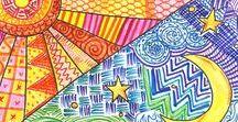 Art Inspirations / My art lesson inspirations.