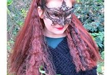 Goth Hair Styles / Goth hair fashion with high quality kanekalon hair pieces by Magic Tribal Hair! We make your custom color dark fantasy hair dream, super long and extra lighweight dreads - just check our website www.magic-tribal-hair.com for all hair extensions and Gothic hair jewelry! All our pieces are hand-made to order and come with detailed instructions for use and care.
