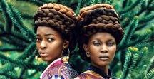 African American & Afrohemian Hair Styles / Wonderful African American and Afrohemian styling ideas with focus on hair pieces and hair extensions from www.magic-tribal-hair.com. We make hair falls, braids and other hair pieces to order and in all hair colors; have us make your prom or wedding dream hair or just something fancy for everyday hair stylings!