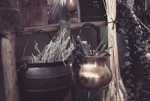 Magic Cauldrons / The cauldron is a symbol of transmutation, germination, and transformation. But above all is symbolizes the womb, and therefore, is a Goddess symbol as well. In Celtic lore the cauldron is the symbol of the Underworld. In Greek and Roman mythology the cauldron was hidden in a cave...
