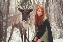 Gυidє ωisdσм ∵ Cєrvidαє ∵ / Horned Kings of the Woods