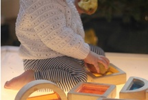 Sensory play / Play ideas for child development and especially those with sensory processing issues and visual impairment