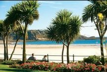 Jersey's Coastline / Jersey is just 9 miles by 5 and has the most stunning coastline and beautiful sandy beaches.