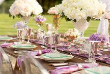 Arreglos de mesa/Table Settings