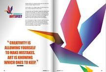 Magazine spreads double page layouts / Wondering how to make a magazine layout design? Take a look at these page layouts for inspiration. Examples of brochure designs and magazine design inspiration spreads from FlipSnack.