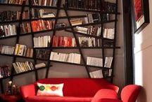 estanterias y bibliotecas / by susana cano