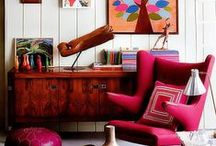 red sofas / by susana cano