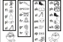 Word Study 4 - Diagraphs & Blends / Activities for students learning digraphs and blends (Letter Name Alphabetic level)