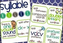 Word Study 10 - Syllables / Activities for students learning about spelling patterns within syllables (Syllables and Affixes)