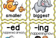 Word Study 9 - Inflections / Activities for students learning about spelling inflections (Syllables & Affixes)