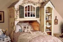 Little girls and boys bedroom