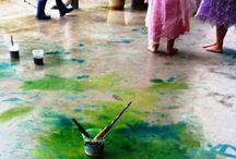 Kids outdoor activities / Outdoor crafts and activities for young kids and preschoolers
