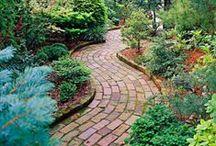 DIY Garden Paths Ideas
