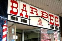 Barber Shops Nostalgia / Some guys got familiar with Clubman Talc and After Shave Lotion at barber shops and club locker rooms.  We salute all barber shops here!